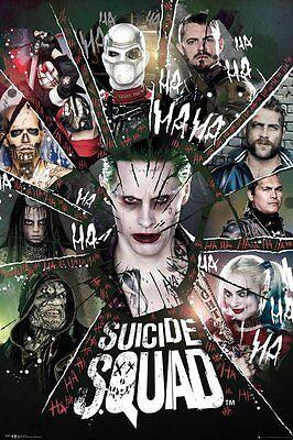 "Suicide Squad Harley Quinn  Card   FRIDGE Magnet 2.5/"" x 3.5/"""