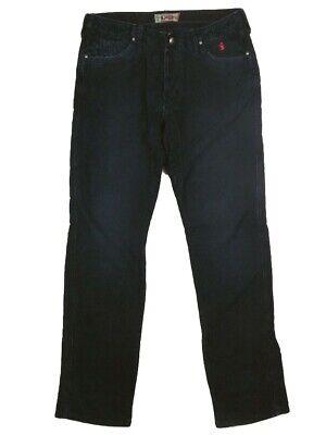 Aggressivo Pantaloni Jeans Uomo Jaggy Mcqueen Tg W 32 It 46 Blu Velluto Cotone Slim Nuovo