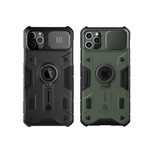 Pour-iPhone-11-Pro-Max-Nillkin-Armor-Case-Outdoor-Sport-a-bequille-Slide-Cover