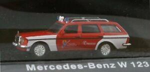 MB Mercedes Benz T - Modell W123 - Firetruck - Atlas 1:72
