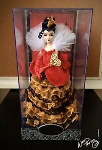 2012-LIMITED-EDITION-Alice-in-Wonderland-Disney-Designer-QUEEN-OF-HEARTS-Doll