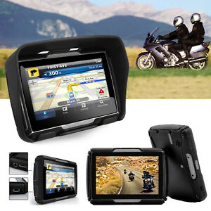 Navigationsgeraet-Motorrad-Lkw-Bus-GPS-4-3-Zoll-TFT-Display-8GB-Auto-Bluetooth
