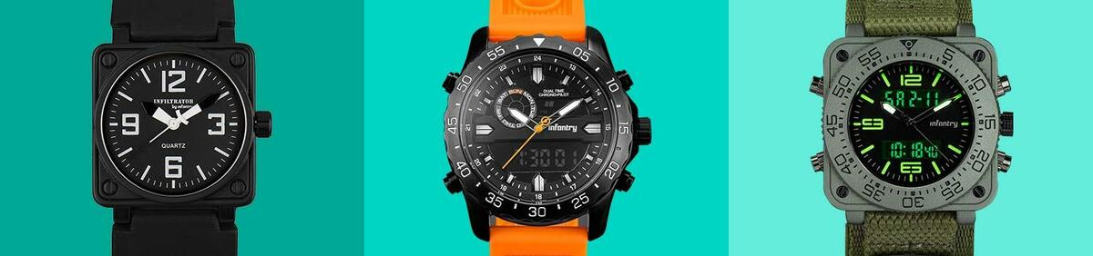 Shop event 18 Months Warranty on Infantry Watches  Up to 20% Cheaper than Amazon & Official Site