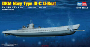 Hobbyboss-1-350-Scale-83508-German-Navy-Type-lX-C-U-Boat-Model-Kit-Hot
