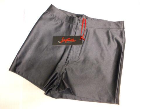 """NUOVO Pantaloncini Donna da Collezione /""""rossetto/"""" Grigio Antracite-Taglia UK 8//10//12"""
