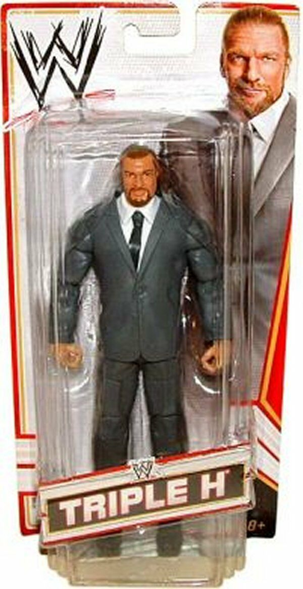 WWE ELITE COO TRIPLE H FIGURE TOYS R US MAILAWAY EXCLUSIVE AUTHORITY SUIT HUNTER