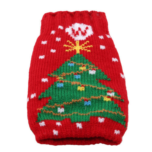 Christmas Xmas Knitted Jumper Beer Wine Spirit Bottle Cooler Gift Fun Party Z