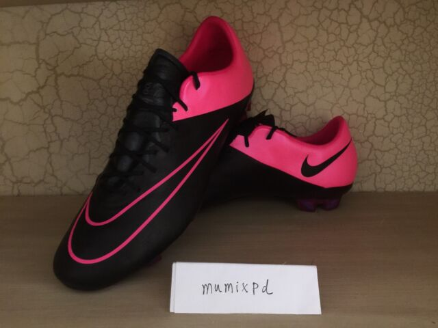 Nike Mercurial Vapor X Leather FG Hyper Pink soccer cleats firm 747565 006 sz 12