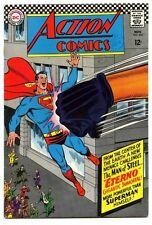 Action Comics #343 - DC 1966 - FN - Superman