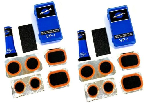 2 Two Pack of Park Tool VP-1 Bicycle Tube Vulcanizing Repair Patch Kits