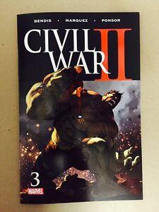 CIVIL-WAR-II-2-3-MARVEL-COMICS-2016-1ST-PRINT-DEATH-OF-BANNER-HULK-HAWKEYE