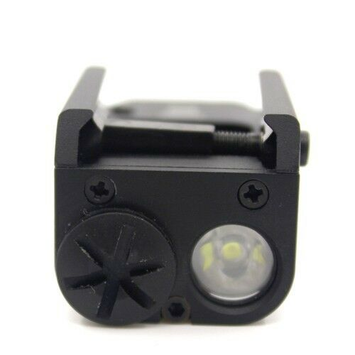 20mm Rail 200lm Tactical XC1 LED Light Pistol Mount Compact Handgun Flashlight