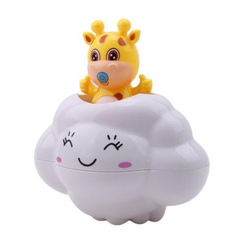 Watering Bath Toys Baby Kids Hair Wash Rain Cloud Bath Shower Fun LC