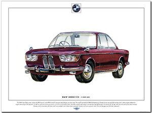 BMW 2000C / 2000CS - Fine Art ...