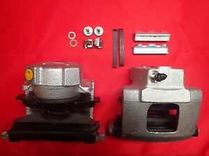 ford granada front brake calipers new with brake pads. Black Bedroom Furniture Sets. Home Design Ideas