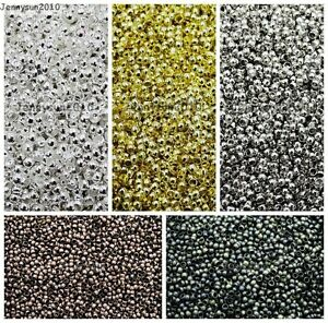 Silver-Gold-Pewter-Bronze-Copper-Rondelle-Crimp-End-Finding-Spacer-Beads-Craft