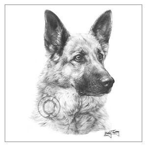 image is loading new mike sibley german shepherd dog breed greeting