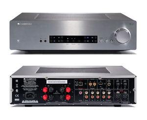 CAMBRIDGE-AUDIO-CX-A-80-AMPLIFICATEUR-AVEC-DAC-INTEGRE-ARGENT-NEUF-GARANTIE