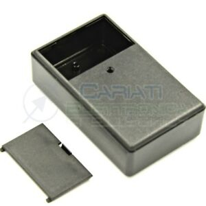 Contenitore-custodia-99x60x30-mm-con-vano-pila-AA-AAA-o-9V-in-ABS-nero