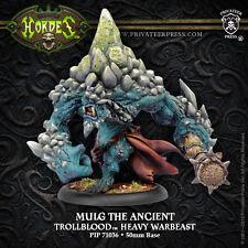 Warmachine BNIB - Trollblood Mulg The Ancient Dire Troll