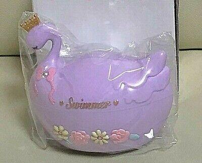 SWIMMER Dreamy Swan Case Purple Kawaii Japan