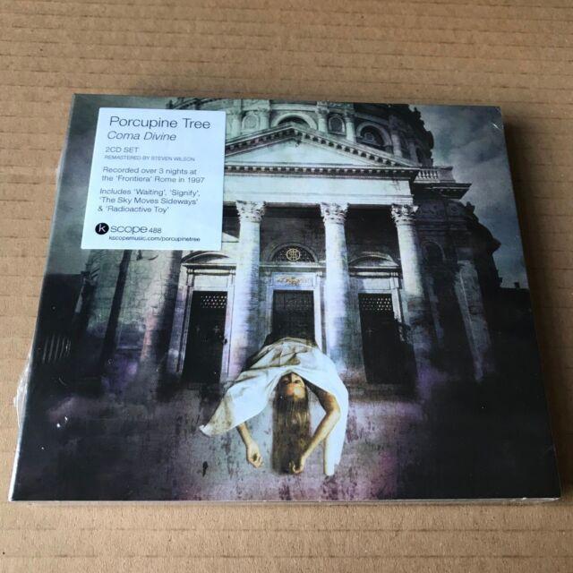 "Porcupine Tree ""Coma Divine"" 2CD 2018 Sealed [Steven Wilson Blackfield KSCOPE488"