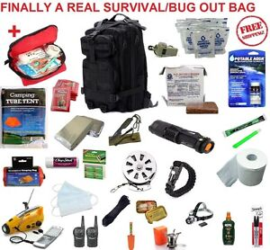Image Is Loading Real 72 Hour Emergency Survival Kit Disaster Bug