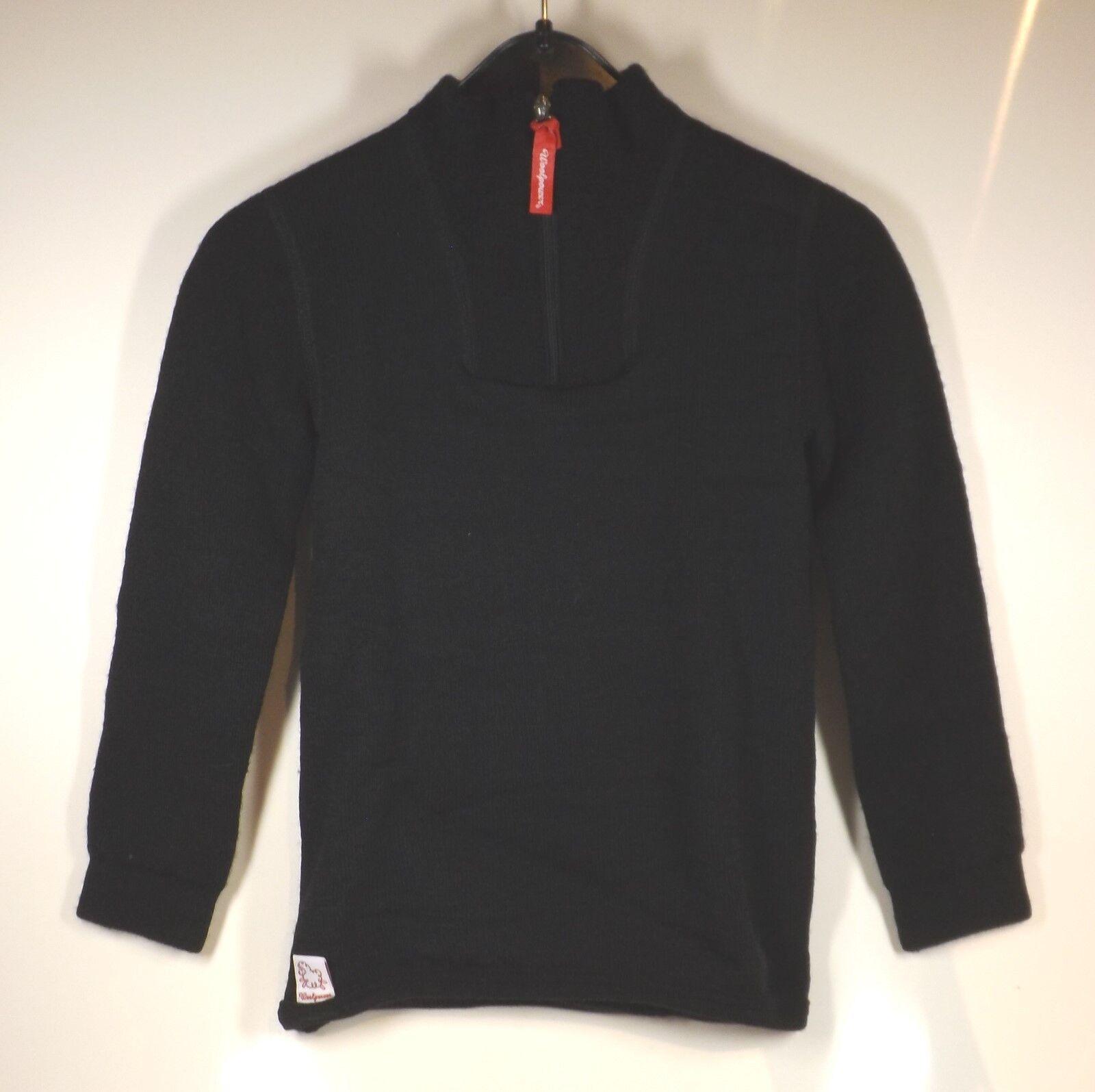 Woolpower Enfants Zip Col Roulé 200 Réchauffer Shirt Sous-Vêtement pour Polo