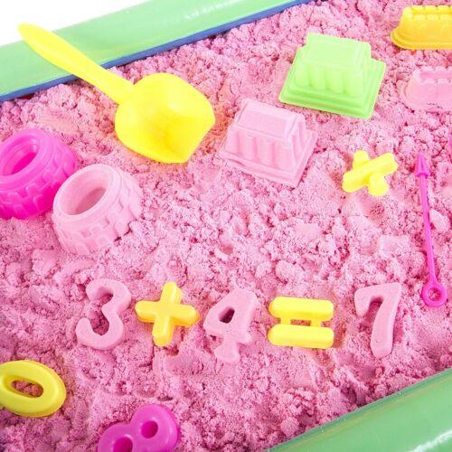 3.3Lbs Sand Inflatable Sand Box Play Sand Box Bucket 32 Pc Set Molds /& More