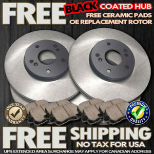 2008 Fits Subaru Forester w//Rear Disc OE Replacement Rotors w//Ceramic Pads R