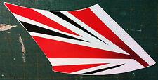 cupolino DX B.R. Triumph Speed /Street Triple  -adesivi/adhesives/stickers/decal