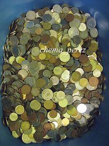 // Lote De 1 Kilos Kg Kilogramos Monedas Europa Pre - Euro \\ Limpide à Vue