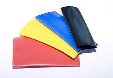 High Gloss Non Toxic PVC Heat Shrink Tubing 6.4/3.2mm (10mm wide) 5 metres Black