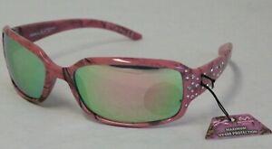 3462465581b NEW  Racer X With Realtree Xtra Women s Pink Camo Sunglasses UV 400 ...