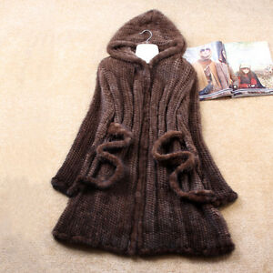 UK-Real-Knitted-Mink-Fur-Long-Coat-Jacket-Hooded-Tailor-made-Gift-for-Your-Lady