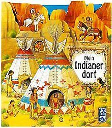 Mein-Indianerdorf-von-Norbert-Landa-Buch-Zustand-gut