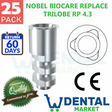 X 25 Nobel Biocare Replace Select Rp Implant Lab Analog