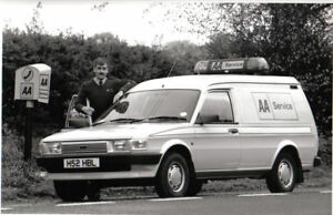 Austin Rover Maestro AA Van period b/w Press Photograph n/d c.1991 Reg. H52 HBL