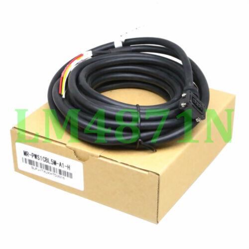 MR-PWS1CBL5M-A1-H power cable MR-J3 for Mitsubishi Motor HC-MP//HC-KP Positive