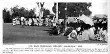 1913 The Bilo Ceremony, Madagascar, Menabe Sakalava Tribe
