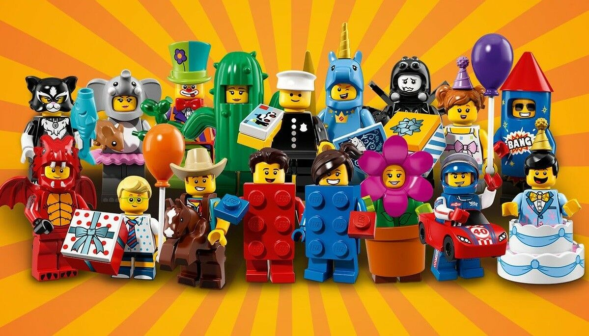 LEGO Minifiguren Serie 18 Flowerpot Girl Minifigur 71021 71021-14