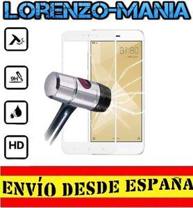 Protector-Pantalla-COMPLETO-BLANCO-XIAOMI-REDMI-4X-Cristal-Templado-9H-lt-gt