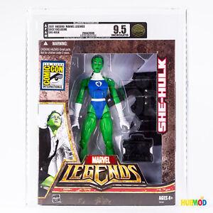 2007-Hasbro-Marvel-Legends-SHE-HULK-Figure-AFAM-9-5-Uncirculated-ComicCon-SDCC