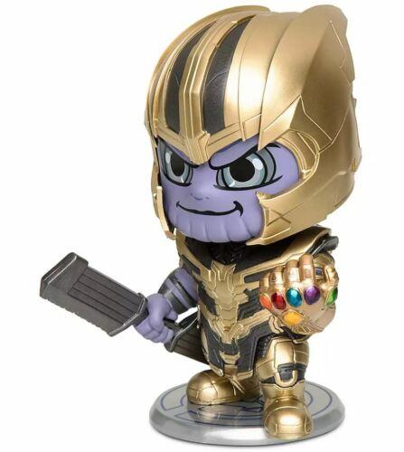 "Disney Cosbaby Marvel Avengers Thanos Bobble-Head Figure 4.5/"" Hot Toys 2019 NEUF"