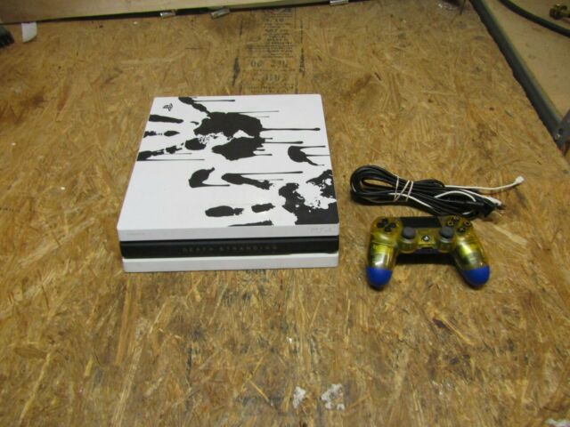 Sony PlayStation 4 Pro 1TB 4K Console CUH-7215B DEATH STRANDING ( LOT 15949)