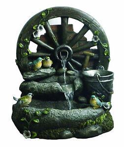 Fontana con uccellini in resina da giardino ebay - Statue da giardino in resina ...