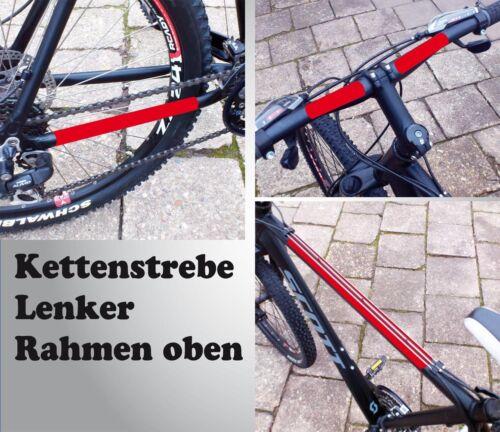 transparent 24 Teile Steinschlagschutz Lackschutz Folie Set für Mountainbike