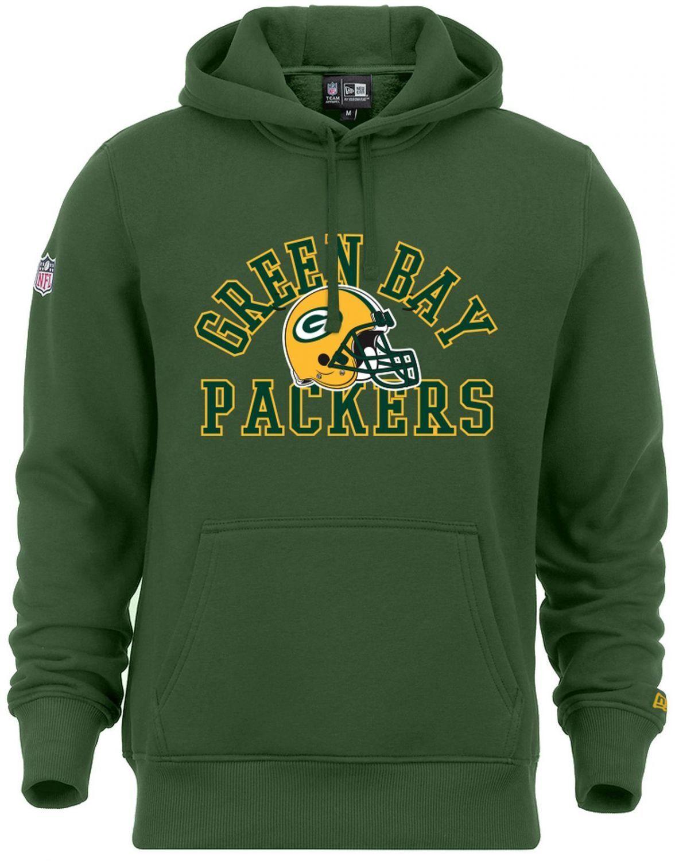 New Era - NFL Grün Bay Packers College Hoodie - ciltrano Grün