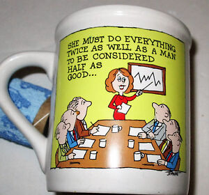 Awesome-Fun-Message-Mug-Cup-George-Good-TWICE-AS-WELL-HALF-AS-GOOD-AS-MAN