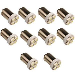 10-x-T11-BA9S-4-LED-3528-SMD-Auto-Ampoule-H5W-Voiture-Lampe-Blanc-5000K-DC-12V-U